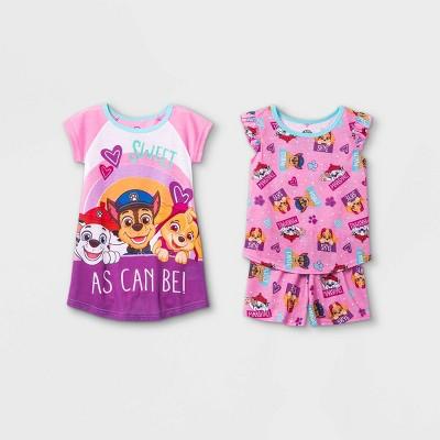 Toddler Girls' PAW Patrol Pajama Set - Pink