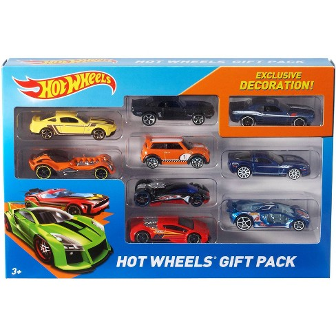 Hot Wheels Diecast 9 Car Gift Pack - image 1 of 9