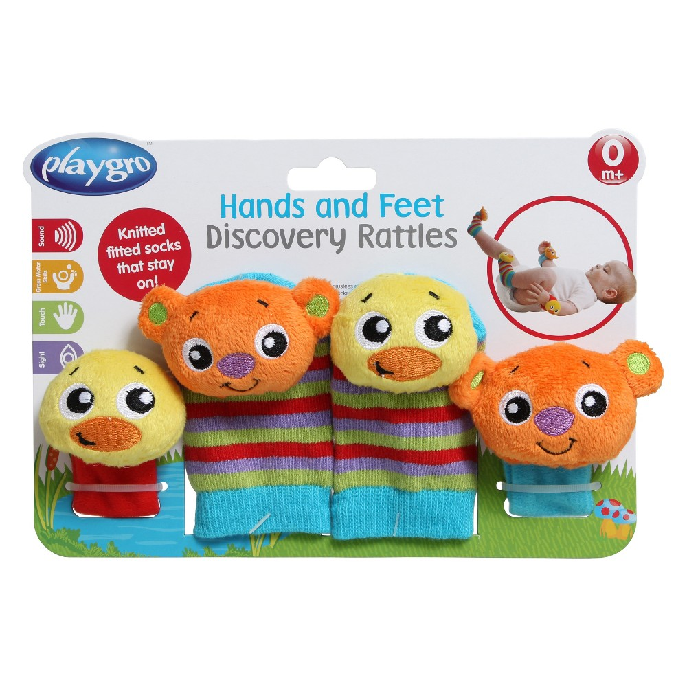 Playgro Hands and Feet Discovery Rattles