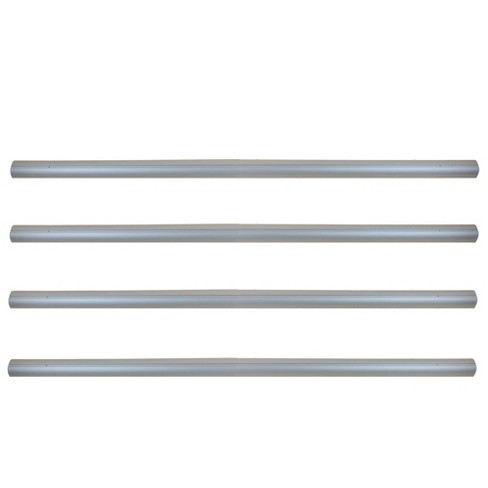 Pool Central Aluminum Tubes for In-Ground Pool Cover Reel System 4'' x 16' - Gray - image 1 of 1