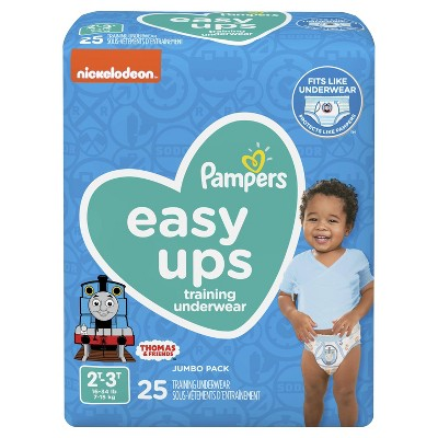 Pampers Easy Ups Boys' Training Pants Jumbo Pack - 2T-3T (25ct)