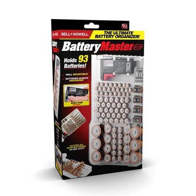 As Seen On TV Bell + Howell Battery Master Organizer