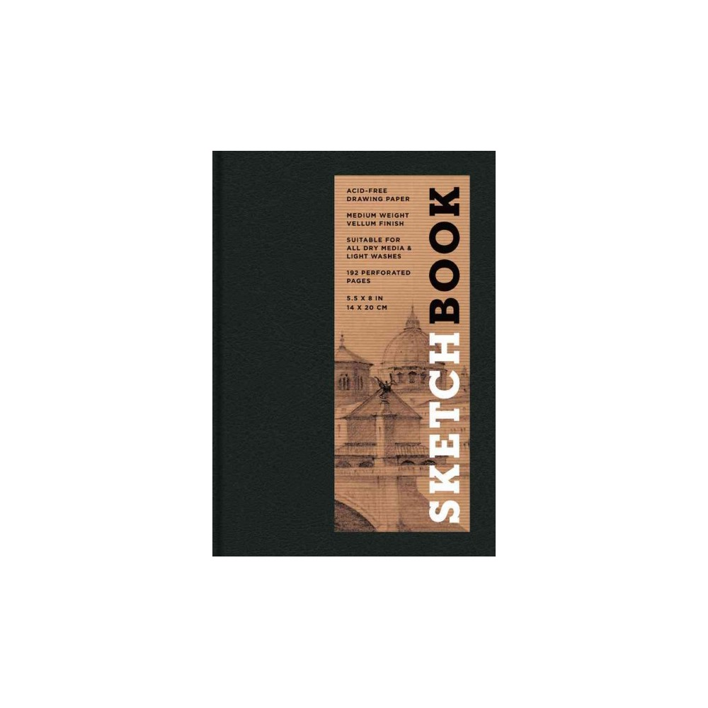 Sketchbook, Basic Small Bound Black (Hardcover)