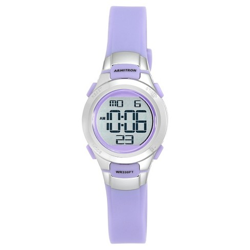 Women's Armitron® Digital Watch - Lavender - image 1 of 1