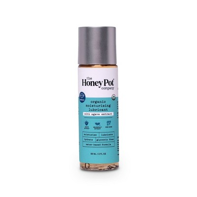 The Honey Pot Organic Water Based Personal Lube - Agave - 2 fl oz