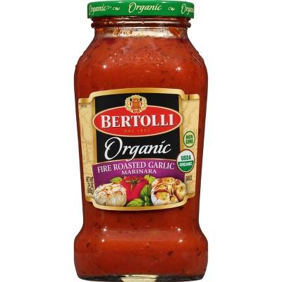 Bertolli Organic Fire Roasted Garlic Marinara Pasta Sauce - 24oz