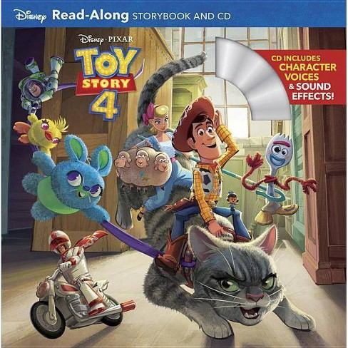 Toy Story 4 Read-Along Storybook + CD -  (Read-Along Storybook and CD) (Paperback) - image 1 of 1