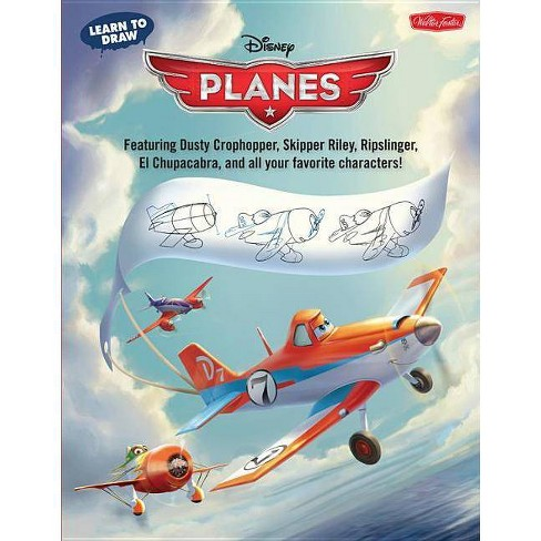Learn to Draw Disney's Planes - (Licensed Learn to Draw) (Paperback) - image 1 of 1