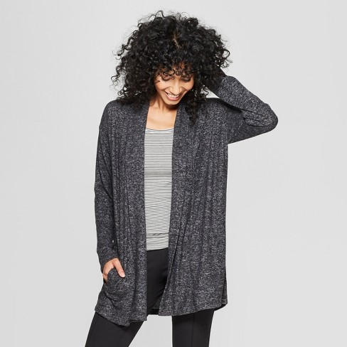 Women's Open Cozy Knit Cardigan - A New Day™ - image 1 of 3