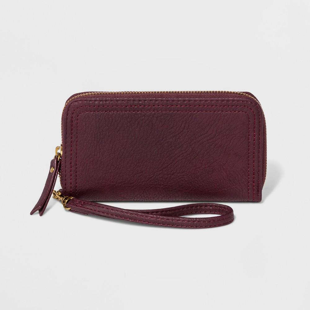 Women's Tech Wallet - Universal Thread Burgundy (Red)