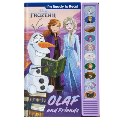 Disney Frozen 2 I'm Ready to Read with Olaf Sound Book (Hardcover)