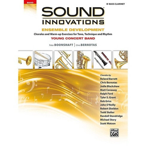 Alfred Sound Innovations for Concert Band - Ensemble Development for Young Concert Band Bass Clarinet - image 1 of 1