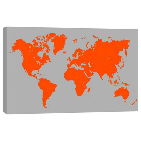 """Geographic Decorative Canvas Wall Art 11""""x14"""" - PTM Images - image 1 of 1"""