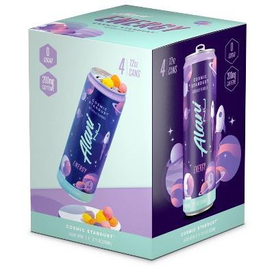 Alani Cosmic Stardust Energy Drink - 4pk/12 fl oz Can