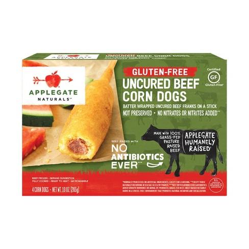 Applegate Gluten Free Uncured Beef Corn Dogs - 10oz - image 1 of 4