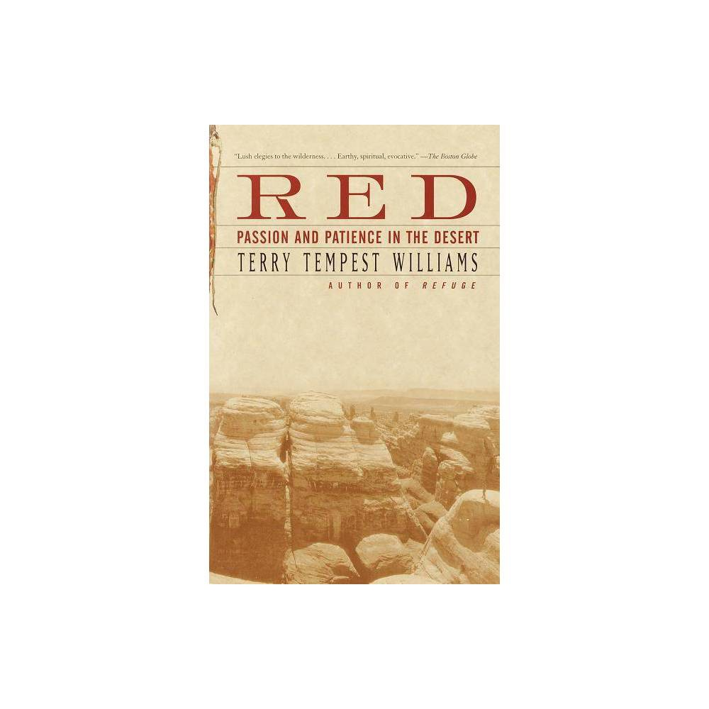 Red By Terry Tempest Williams Paperback