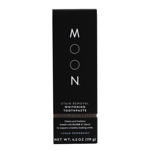 Moon Stain Removal Fluoride Free Whitening Vegan Paraben Sls