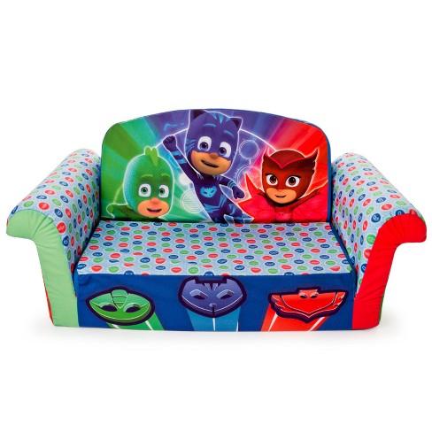 Incredible Marshmallow Furniture Childrens 2 In 1 Flip Open Foam Sofa Pj Masks Flip Open Sofa Download Free Architecture Designs Xaembritishbridgeorg