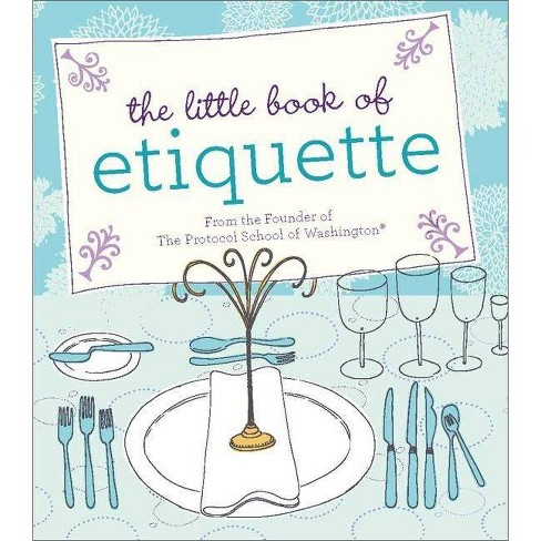 The Little Book of Etiquette - (Rp Minis) by  Dorothea Johnson (Hardcover) - image 1 of 1