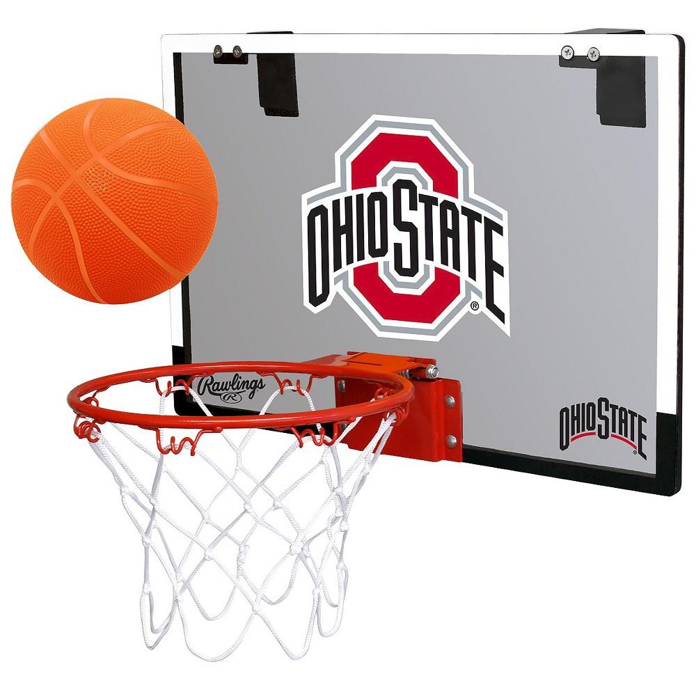 NCAA Ohio State Buckeyes RawlingsToy Basketball Set