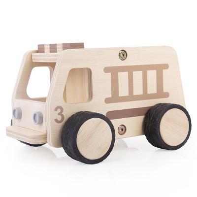Guidecraft Wooden Fire Truck
