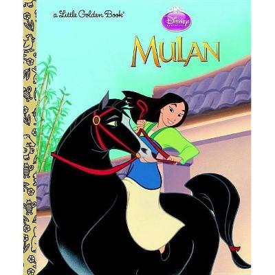 Mulan (Little Golden Books (Random House)) - by Gina Ingoglia (Hardcover)