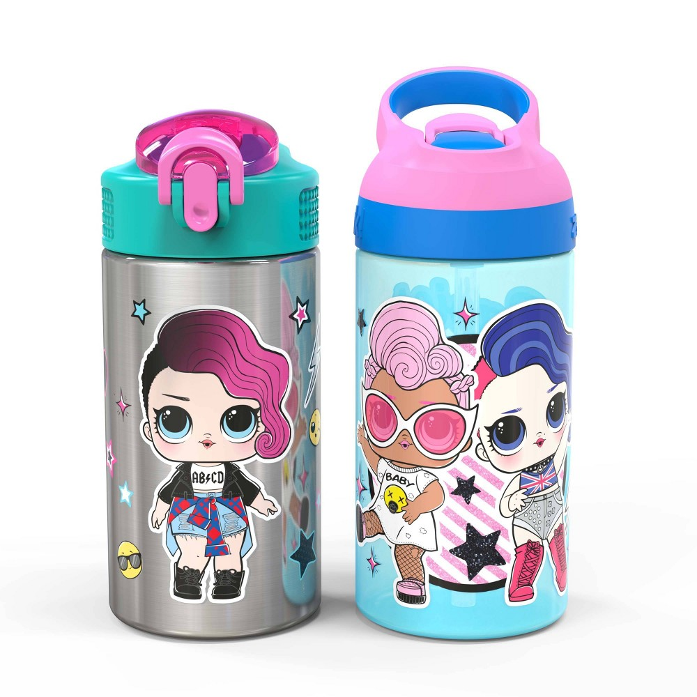 Image of L.O.L. Surprise! 2pk 16oz Stainless Steel Water Bottles - Zak Designs