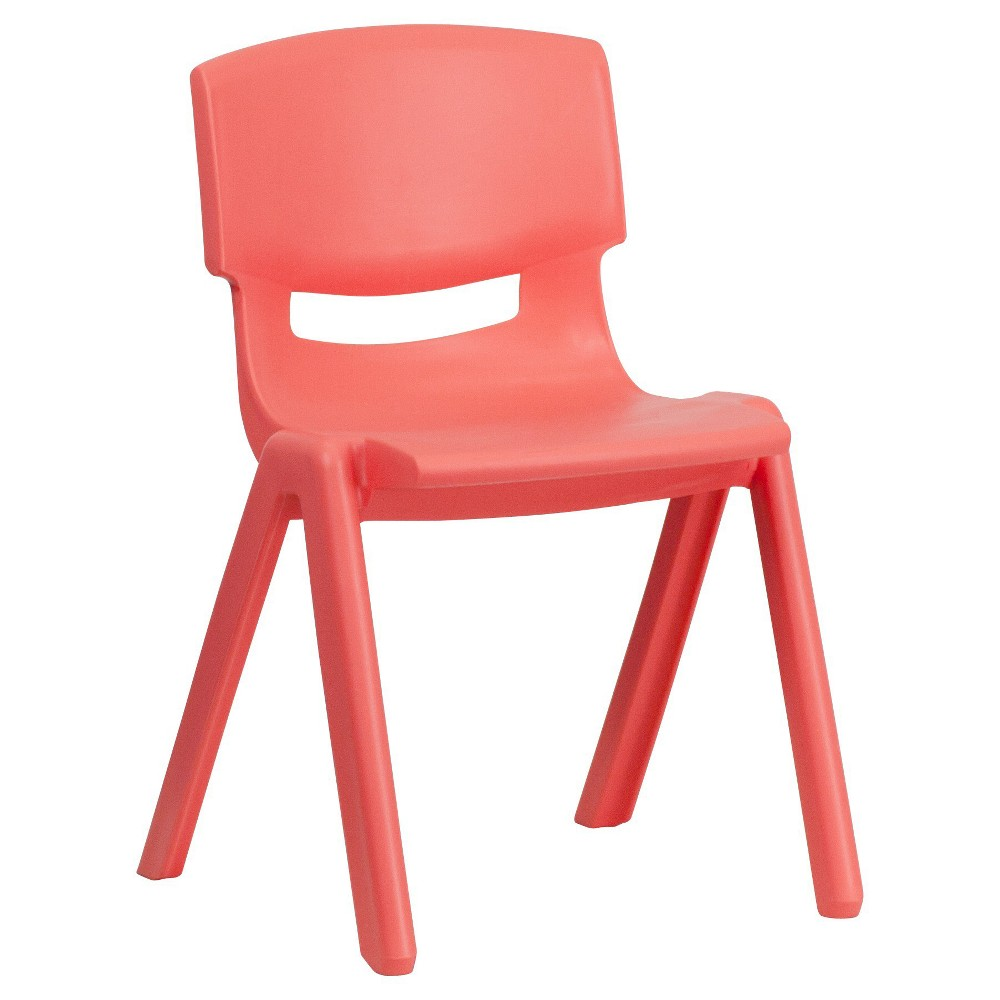 Medium Stacking Student Chair - Red - Belnick