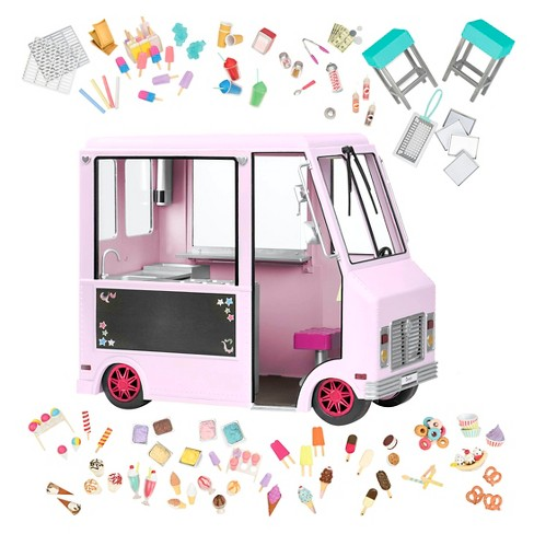 Our Generation Sweet Stop Ice Cream Truck - Pink - image 1 of 4