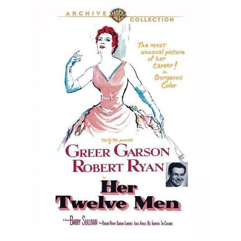 Her Twelve Men (DVD) - image 1 of 1