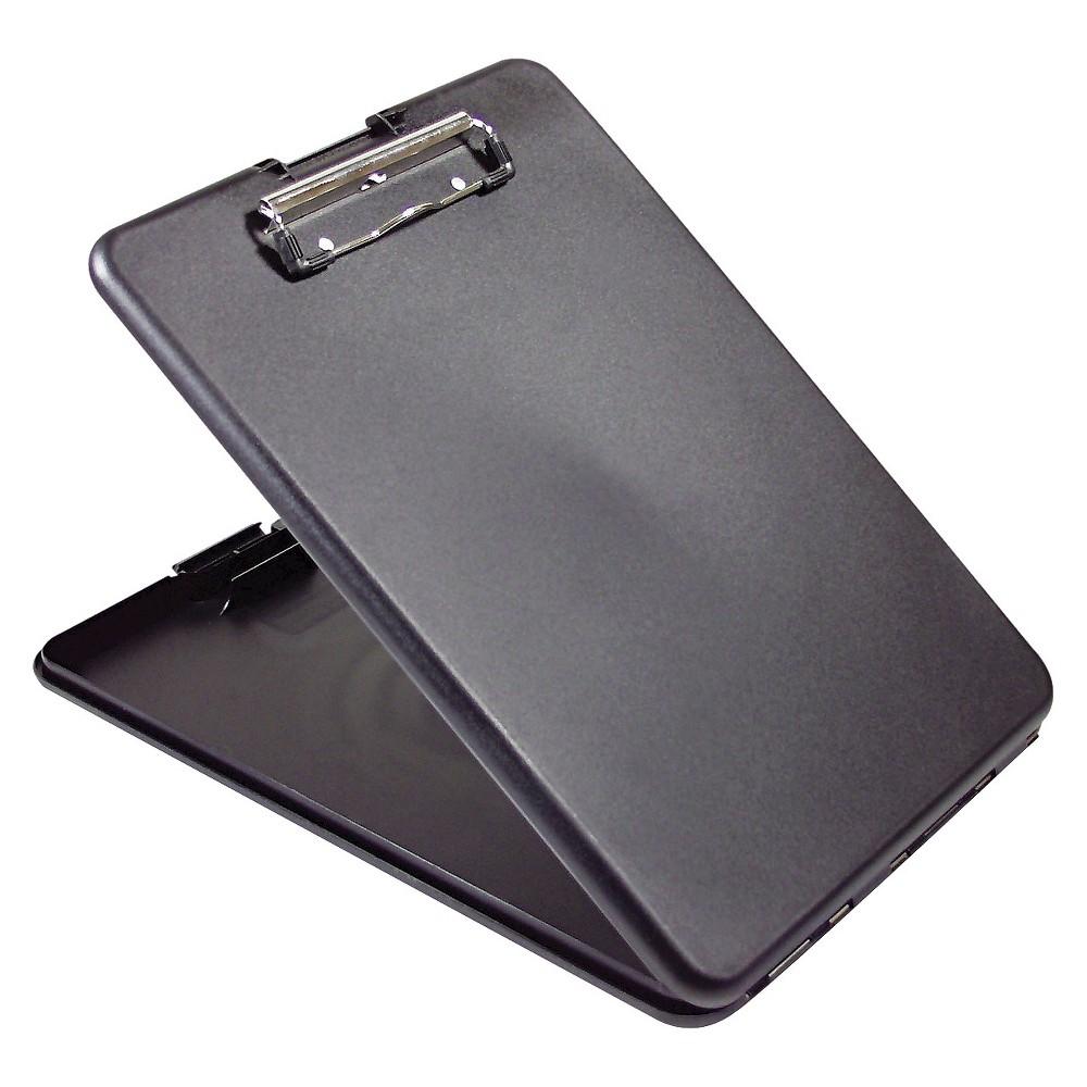 Saunders 1/2 Capacity SlimMate Storage Clipboard - Holds 8-1/2 x 12 - Black