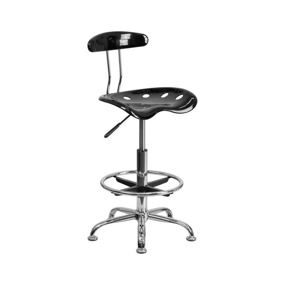 Tractor Stool Black Riverstone Furniture Collection
