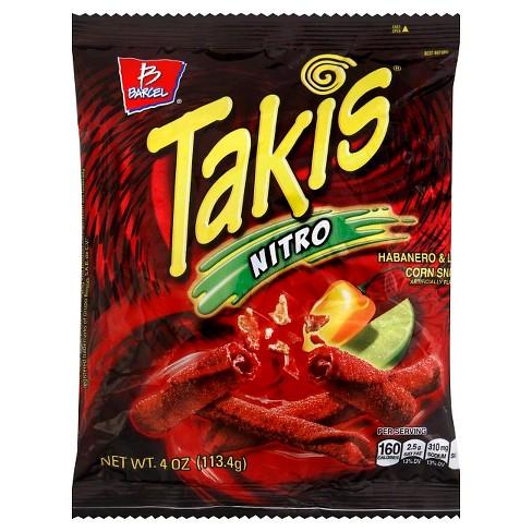 Barcel Takis Nitro Habanero & Lime Corn Snack - 4oz - image 1 of 1