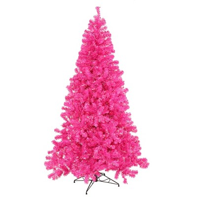 Vickerman Hot Pink Series Artificial Christmas Tree