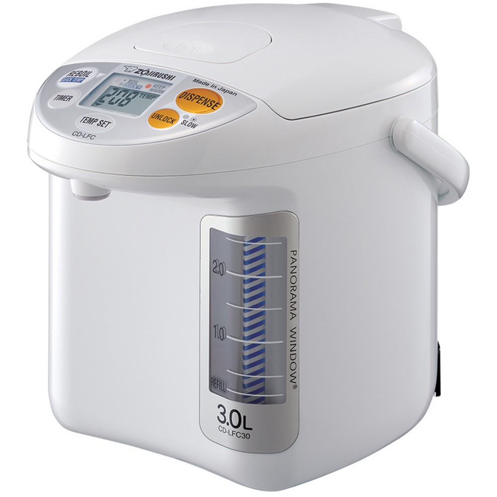 Micom Water Boiler & Warmer w/ Panoramic Window, 101oz, White 52434251