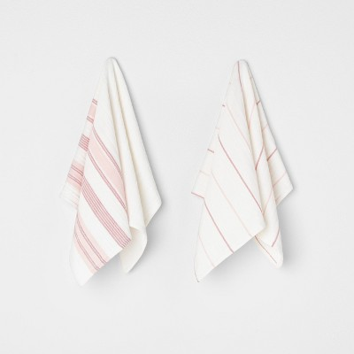 Kitchen Towel Set Sour Cream / Peach - Hearth & Hand™ with Magnolia