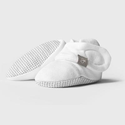 Goumi Baby Organic Cotton Drops Boots – Gray 0-3M