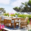 Kaufmann 2pk Wood Patio Dining Chair - Natural - Project 62™ - image 4 of 4