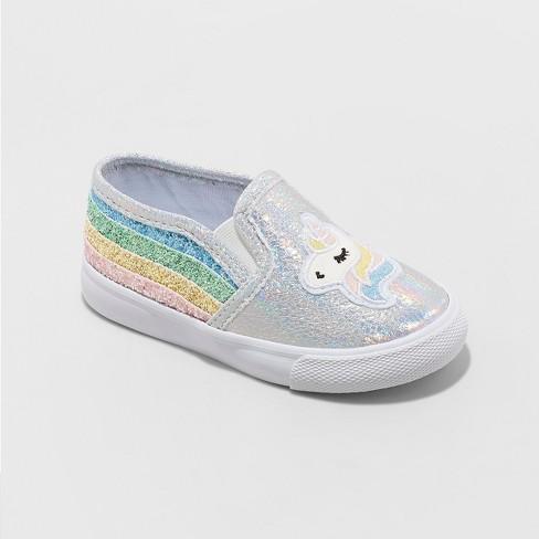 cba50bac97e1 Toddler Girls  Kameel Unicorn Sneakers - Cat   Jack™ White   Target