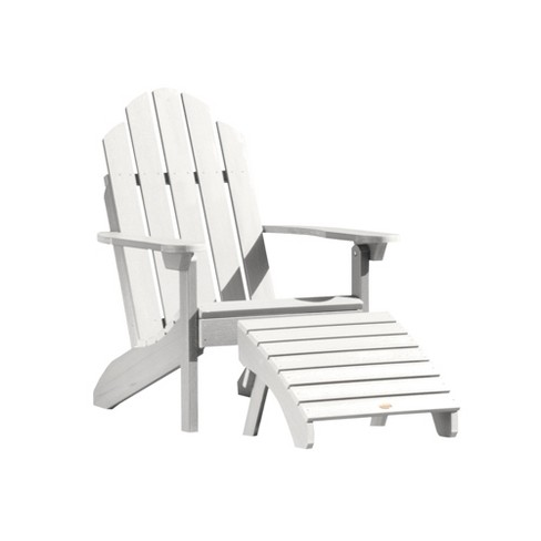 Classic Westport Adirondack Patio Chair with Ottoman - highwood - image 1 of 2