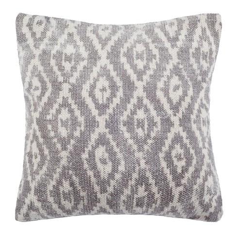 Benzon Pillow Beige Cream 20 X 20 Safavieh Target