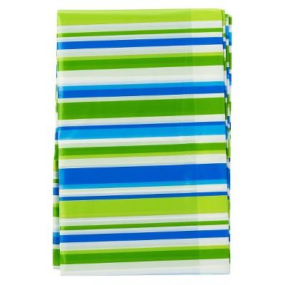 XLarge Striped Gift Bag Blue/Green - Spritz™