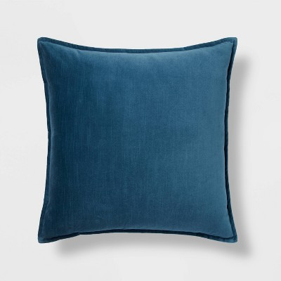 Cotton Velvet Square Pillow - Threshold™