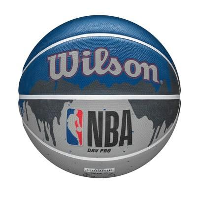 "Wilson NBA DRV Pro Drip 29.5"" Basketball - Gray"