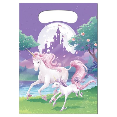 8ct Unicorn Fantasy Favor Bags
