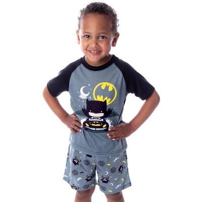 DC Comics Toddler Boys' Batman Pajamas Night Riding 2 Piece Pajama Set