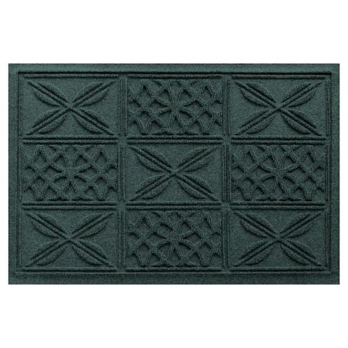 Evergreen Solid Pressed Doormat - (2'X3') - Bungalow Flooring - image 1 of 1