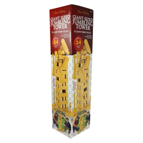 Giant Sized Jumbling Tower Game - image 1 of 2