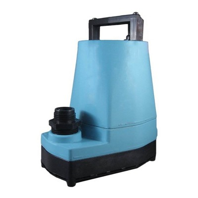 Little Giant 505005 5 MSP 1/6 HP 1200 GPH Submersible or In Line Utility Pump