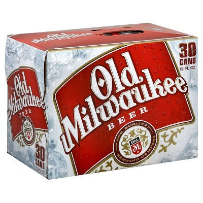 Old Milwaukee Beer - 30pk/12 fl oz Cans